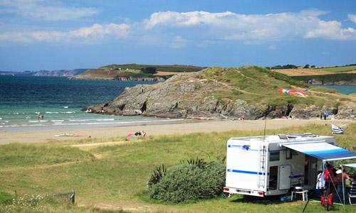 emplacements camping en Bretagne