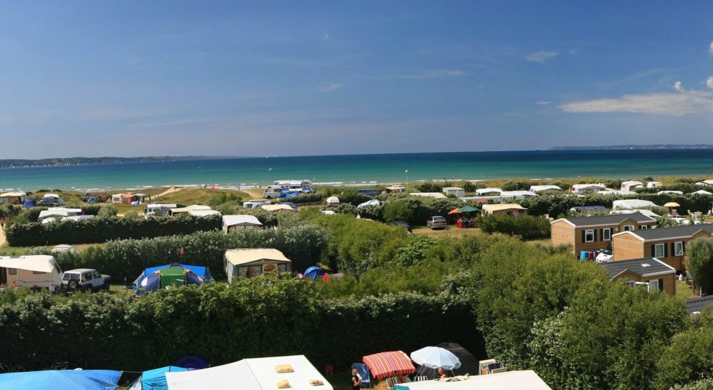 Camping la plage de Treguer en Bretagne