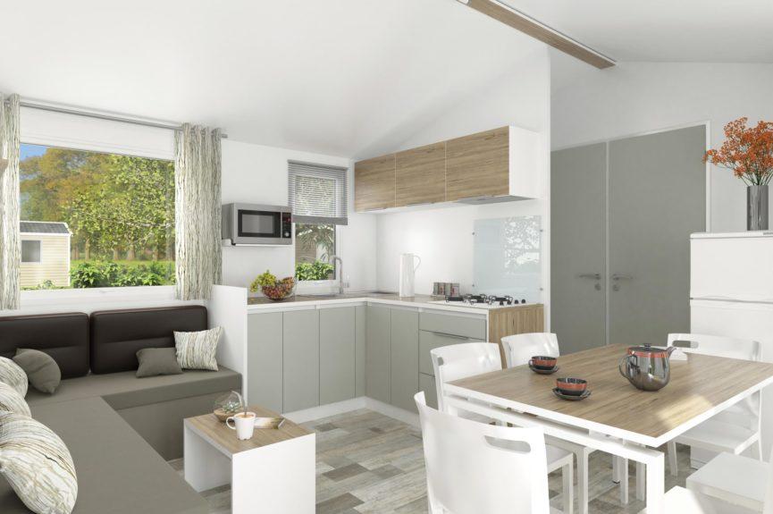 Cottage Premium Panoramique 3 chambres Vue sur mer - Cuisine