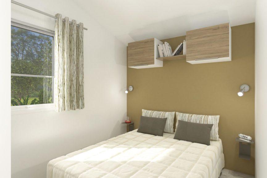 Cottage Premium Panoramique 3 chambres Vue sur mer - Chambre