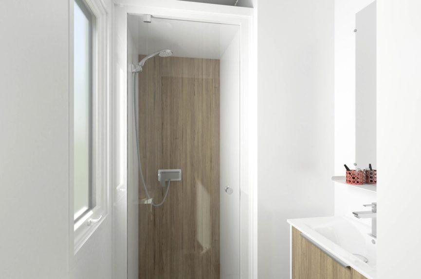 Cottage Premium Panoramique 3 chambres Vue sur mer - Salle de bain
