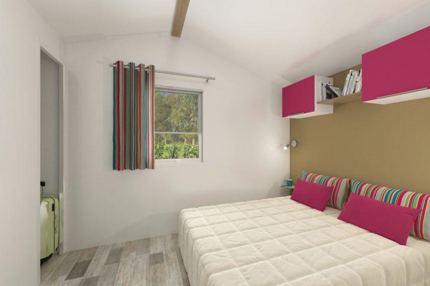 Cottage Premium Panoramique 2 chambre Vue sur mer - Chambre