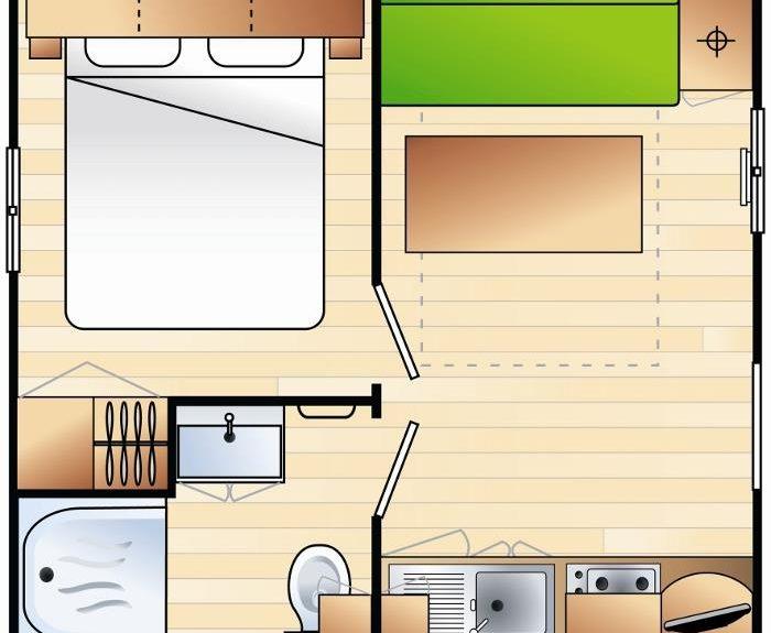 Cottage Grand Confort - Plan
